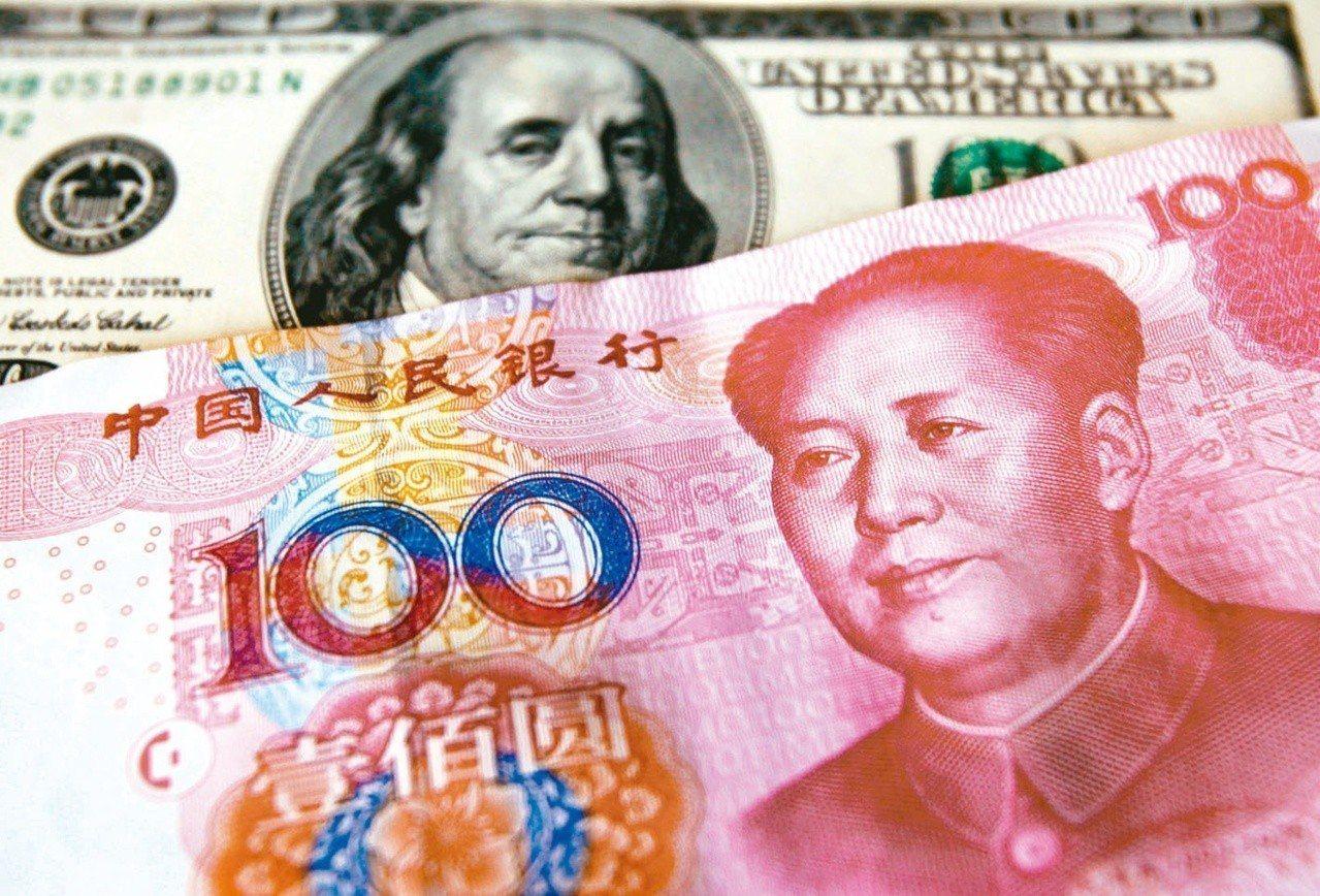 隨著中美貿易爭端加劇,投資人做空中國有捲土重來之勢。路透資料照