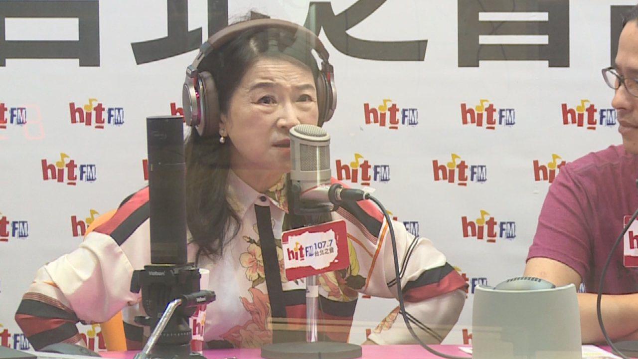 周玉蔻在節目上痛批台北市長柯文哲懦弱,不敢面對媒體質疑。攝影/ 記者陳煜彬