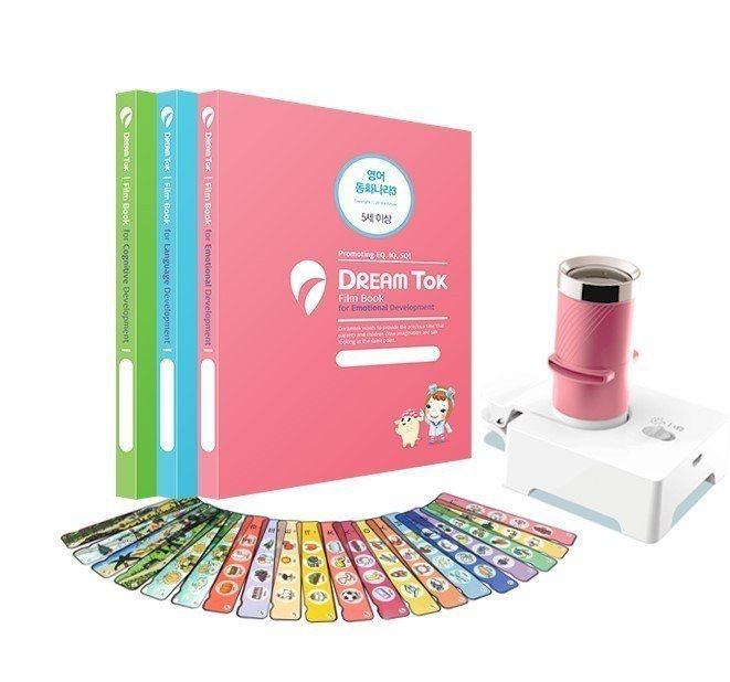 韓國DreamTok童夢故事投影機。 WUJI CREATIVE/提供