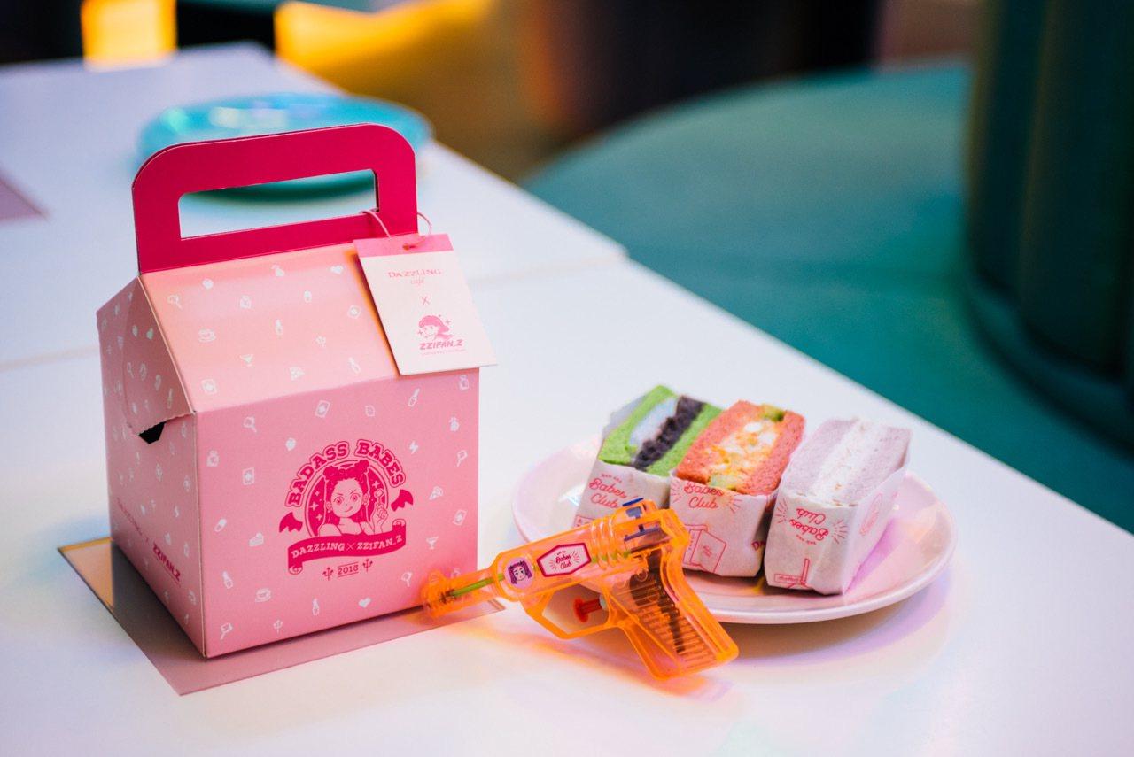 粉壞甜心盒,8月10號販售,全台限量500份,售價390元。圖/Dazzlin...