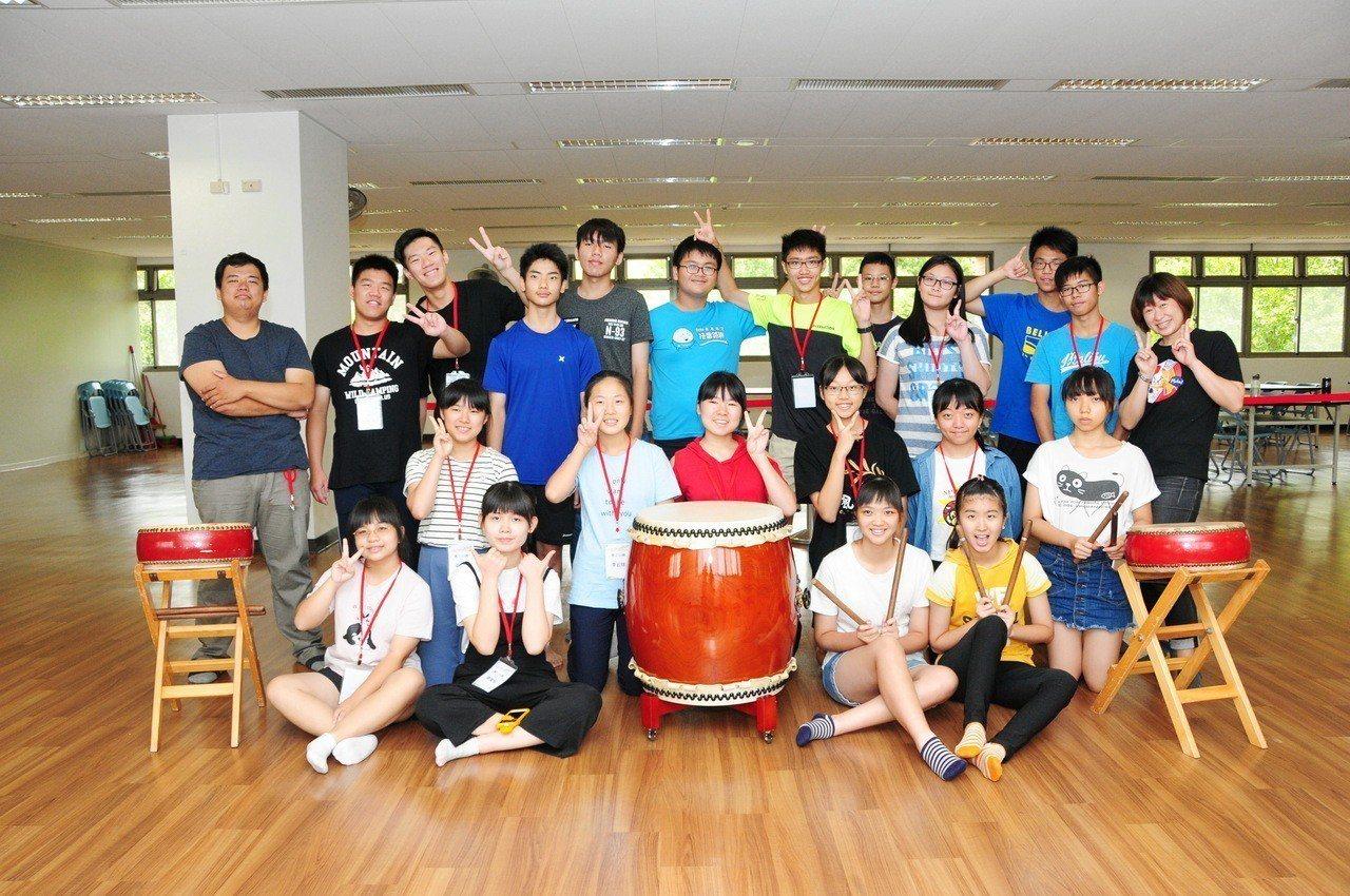 靜宜舉辦研習營一次學習「日、西、越、德」4國外語與文化。圖/靜宜大學提供