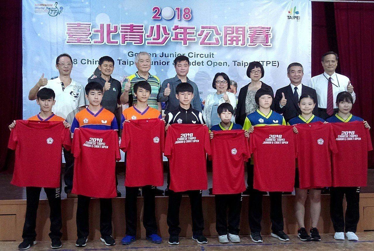 台北青少年公開賽8月22日至26日臺北體育館登場。記者林宋以情/攝影