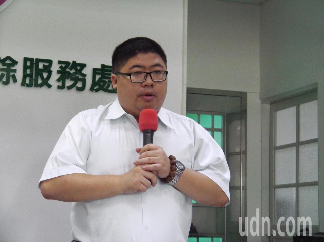 民進黨立委蔡易餘。本報系資料照片