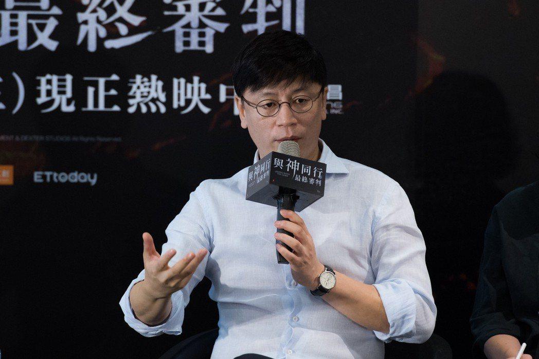 金容華與台灣影人對談交流台韓電影文化經驗。圖/采昌提供