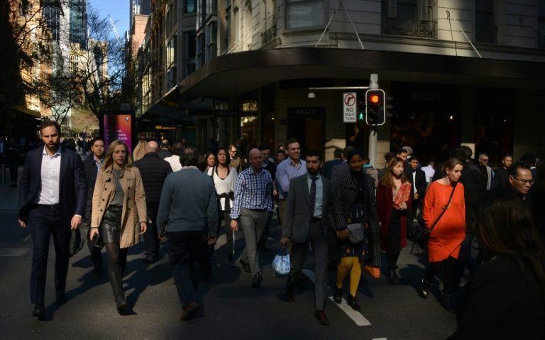 澳洲主要城市地區人口密度愈來愈大。 (法新社)