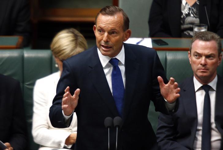 澳洲前總理艾波特。 (路透)