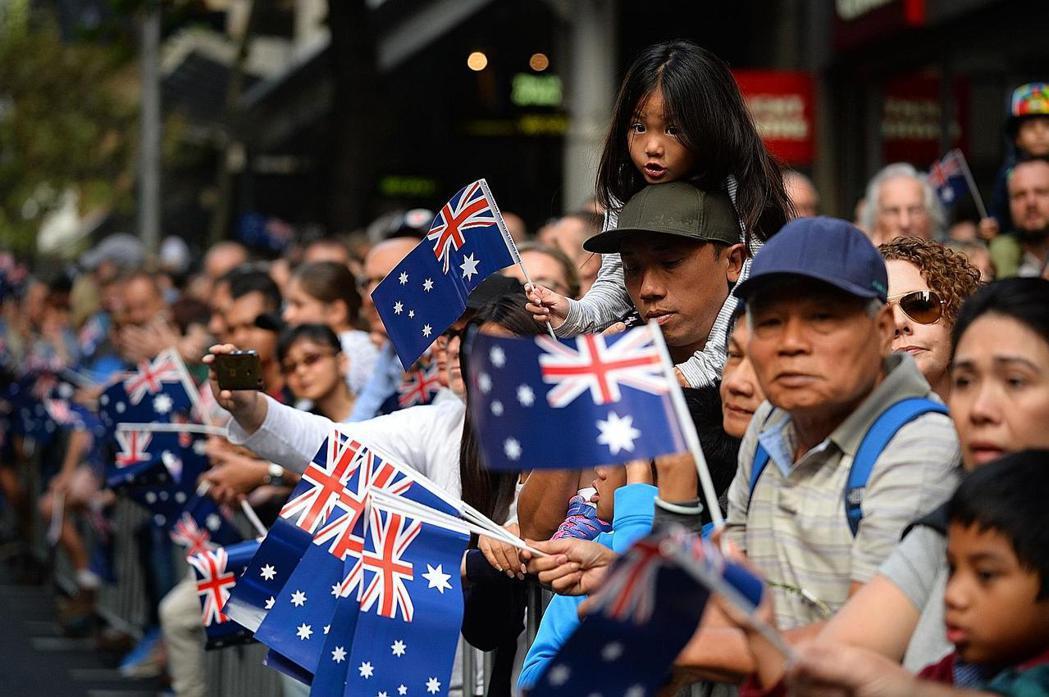 澳洲長久來自認是個移民國家。 (法新社)