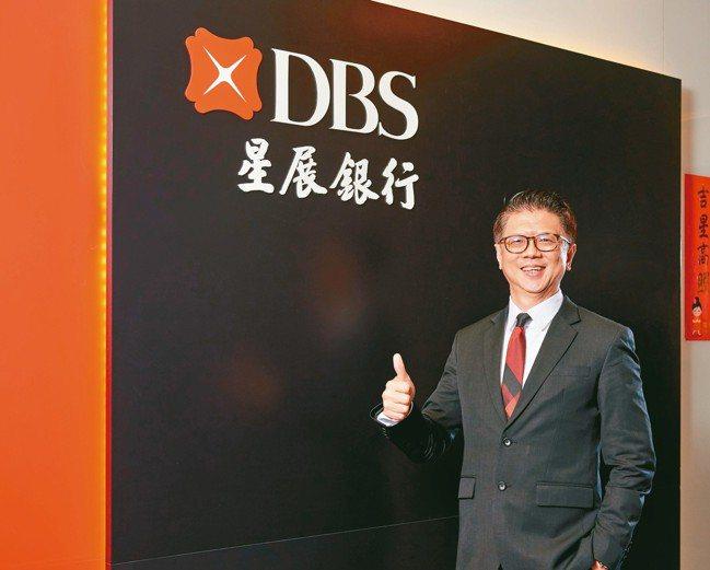 台灣星展銀行總經理林鑫川從最基層的地方了解台灣市場。 星展銀行/提供