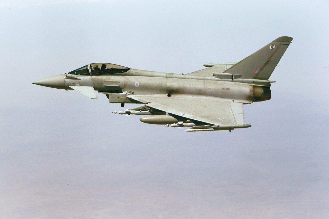 誤射飛彈的同型戰機。 路透