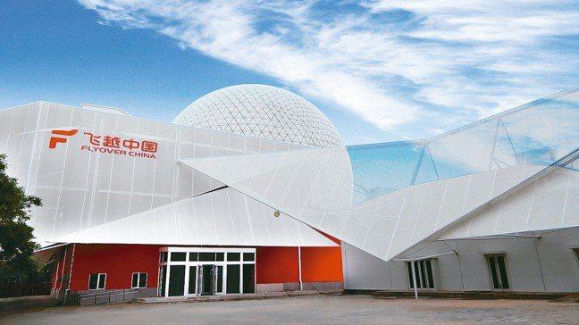 智崴飛行劇院營運據點飛越中國於北京石景山遊樂園正式開幕。 智崴/提供