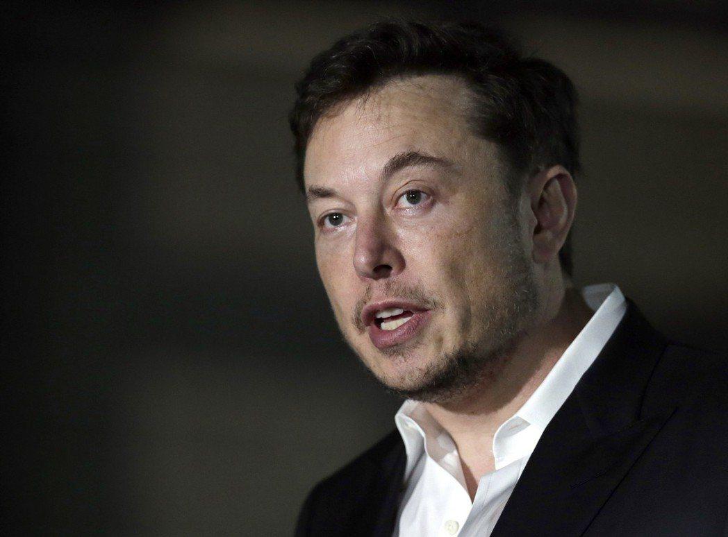 馬斯克(Elon Musk)。 (美聯社)