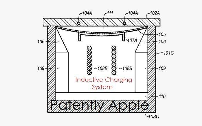 蘋果深耕充電技術。 圖擷自外媒Patently Apple