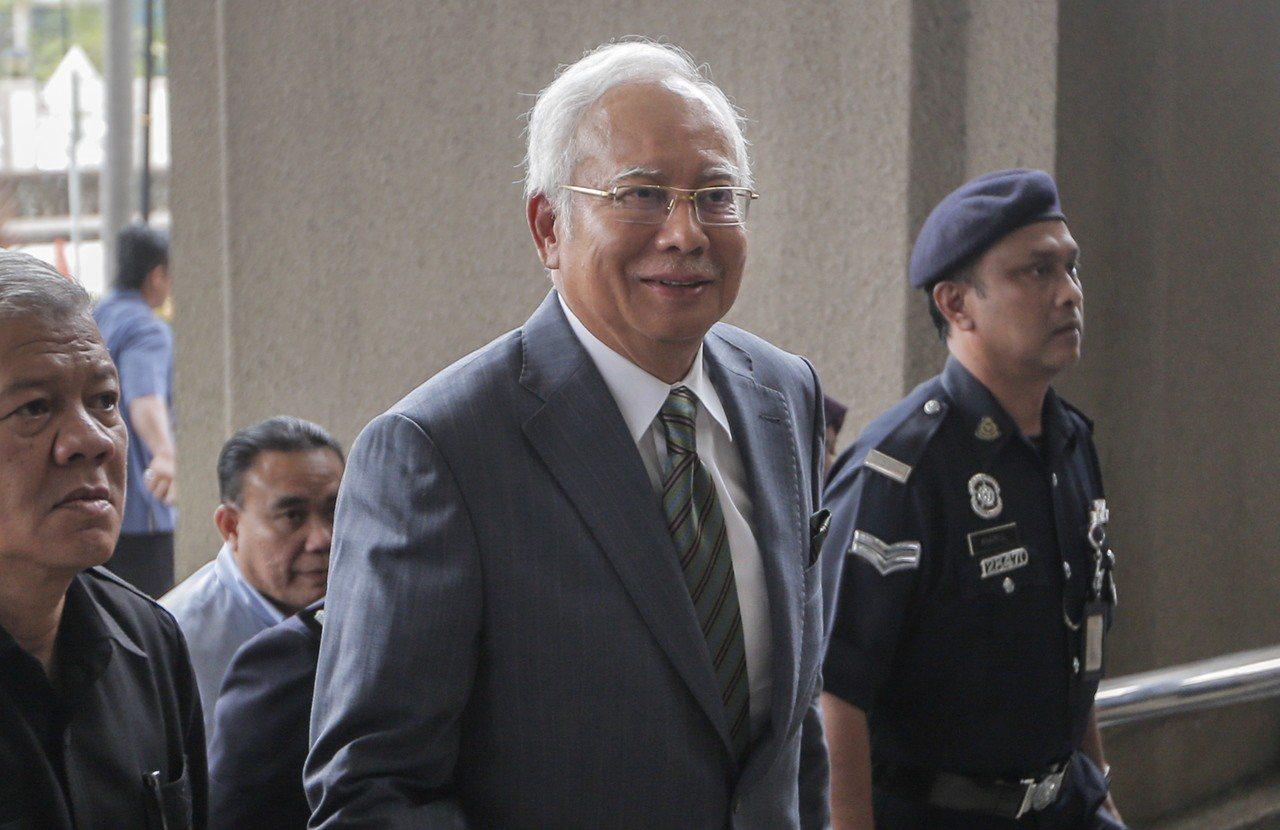 馬來西亞前首相納吉。歐新社資料照片