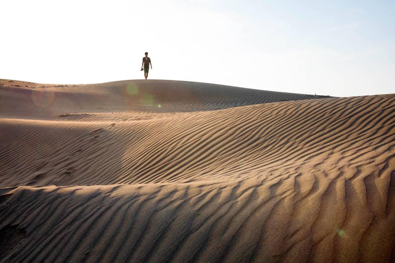 位於桃園觀音砂丘祕境,吸引許多人朝聖。攝影/小林賢佐 提供