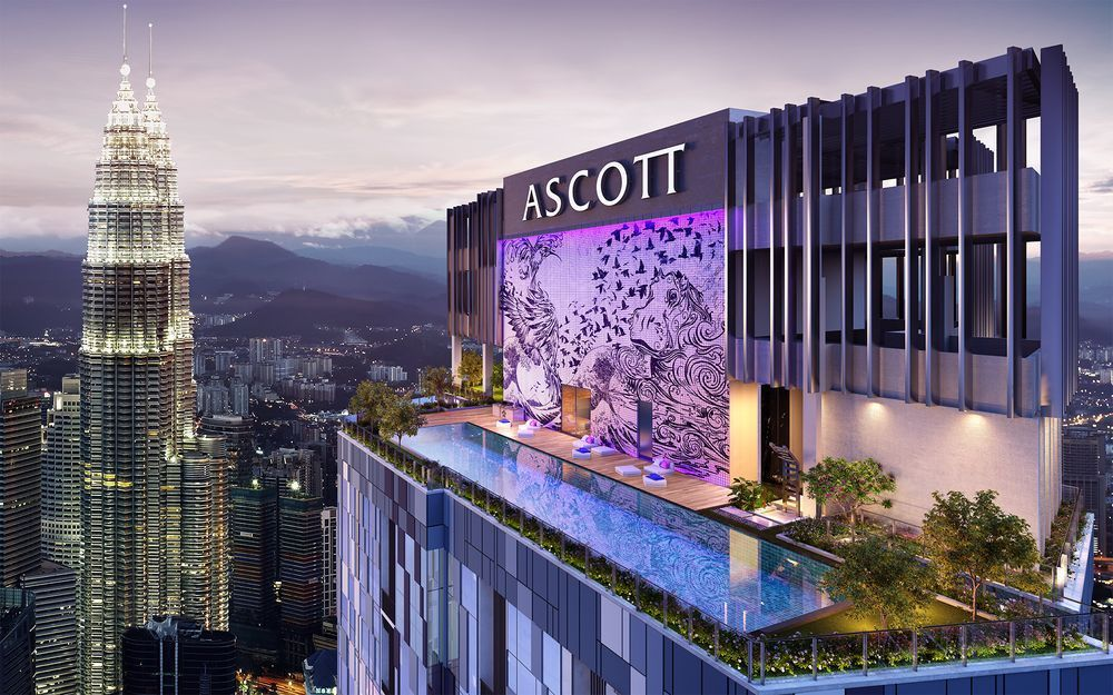 ASCOTT STAR鑽石絕佳地段,被喻為皇冠上的珍珠。 圖╱哈塔瑪斯提供