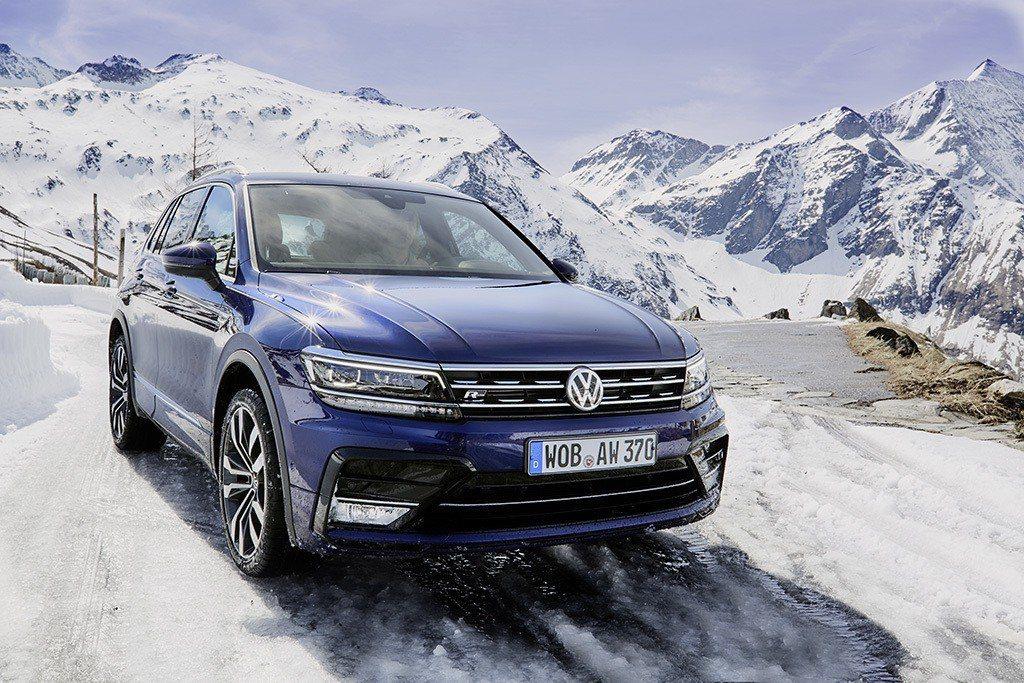 Volkswagen Tiguan。 摘自Volkswagen