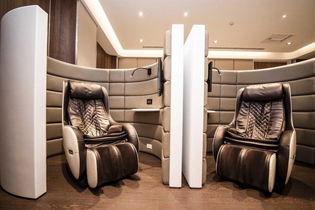頭等艙式BMW Individual VIP Lounge。 圖/汎德提供
