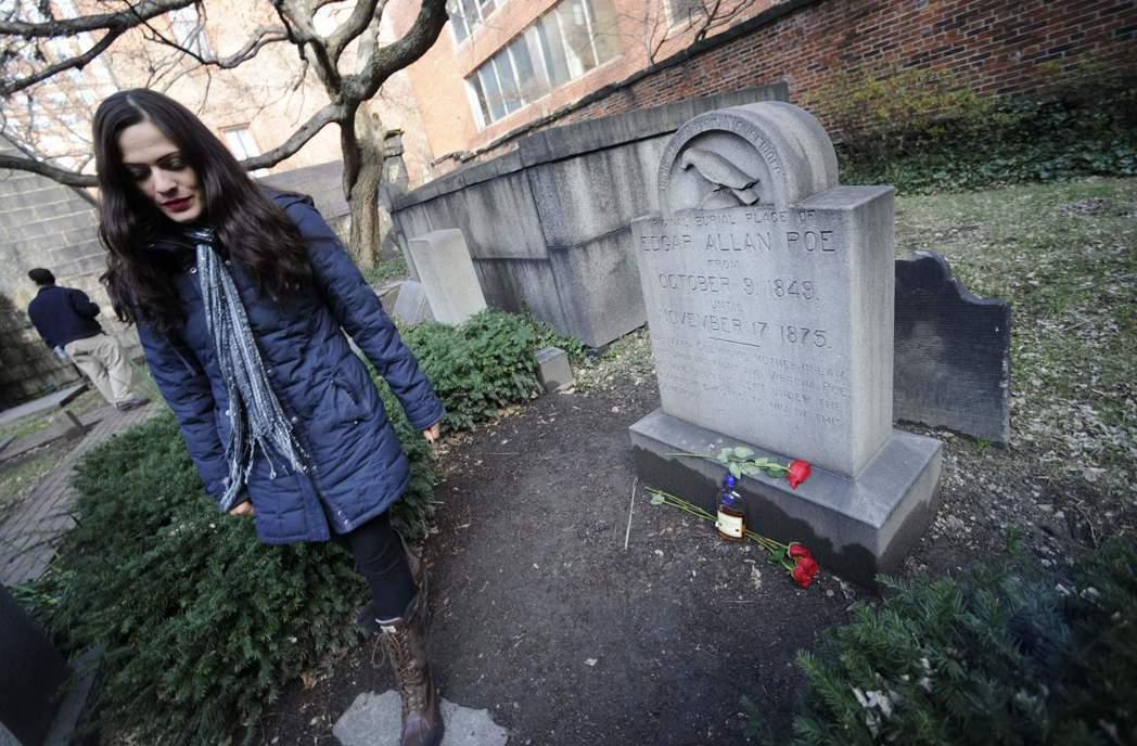 圖為作家愛倫坡之墓。 圖/美聯社