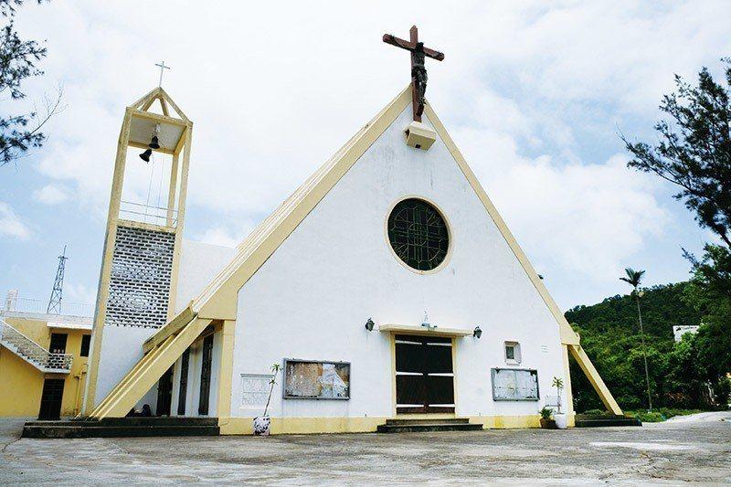 九澳的七苦聖母小教堂造型獨特  攝影|行遍天下