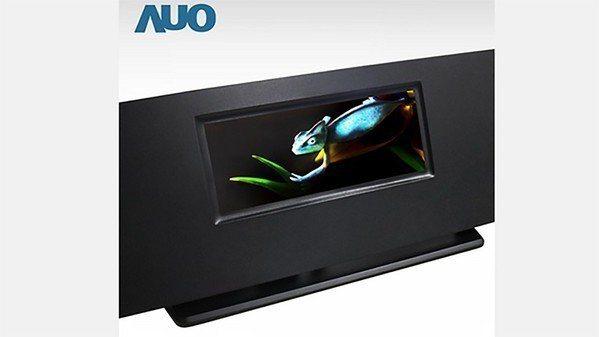 圖7 : 友達展出全球最高解析度全彩主動式8吋Micro LED顯示器(sour...