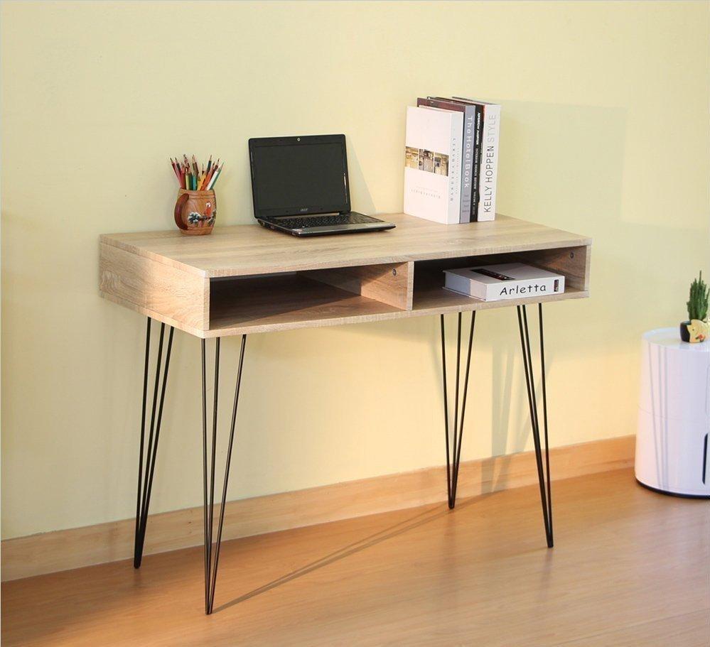 圖說:RICHOME MIRO新工業風時尚書桌。圖由廠商提供。