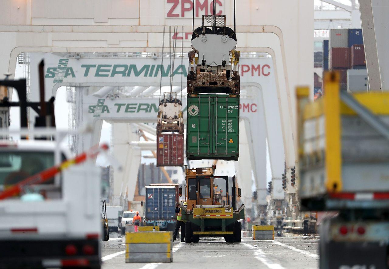 美國公布第二批價值160億美元中國進口商品加徵關稅清單,8月23日起生效。 法新...