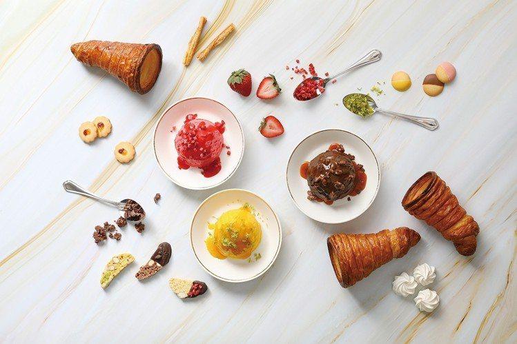 COVA義式可頌甜筒冰淇淋於台北101店先開賣,8月10日至8月12日第二支1元...