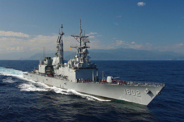 紀德艦驅逐艦。聯合報系資料照