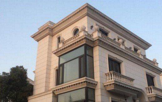 李連杰的上海豪宅外觀奪目。圖/摘自微博