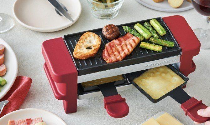 RÉCOLTE麗克特迷你煎烤盤,多功能設計輕鬆完成縮時料理。圖/丞閈企業提供