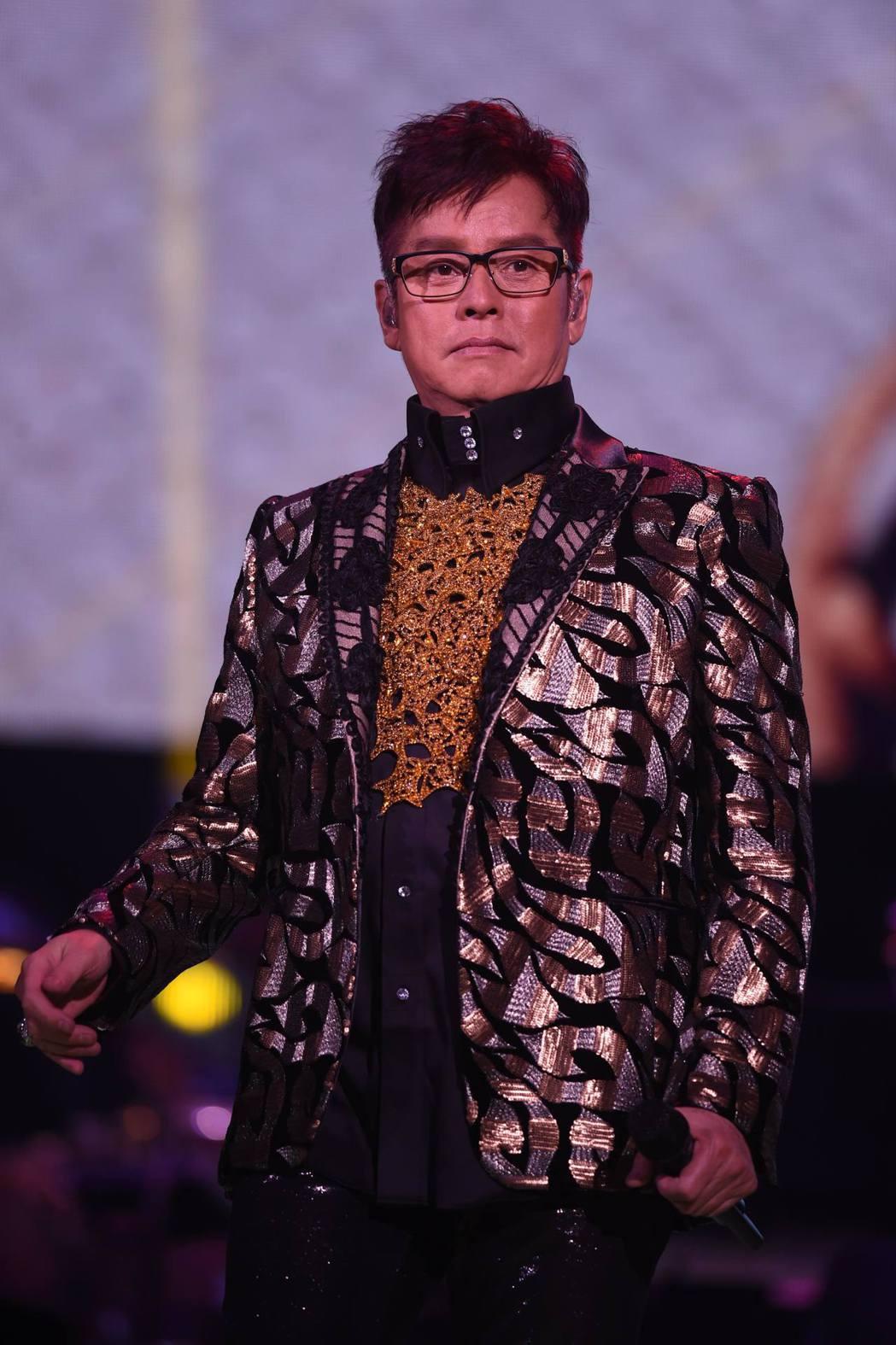 譚詠麟月底滿68歲,9月攻蛋將創下最高齡華人開唱紀錄。圖/寬魚提供