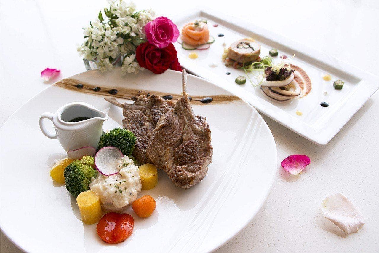 和逸飯店Cozzi THE Roof餐廳從8月17日至8月19日間特別推出「七夕...