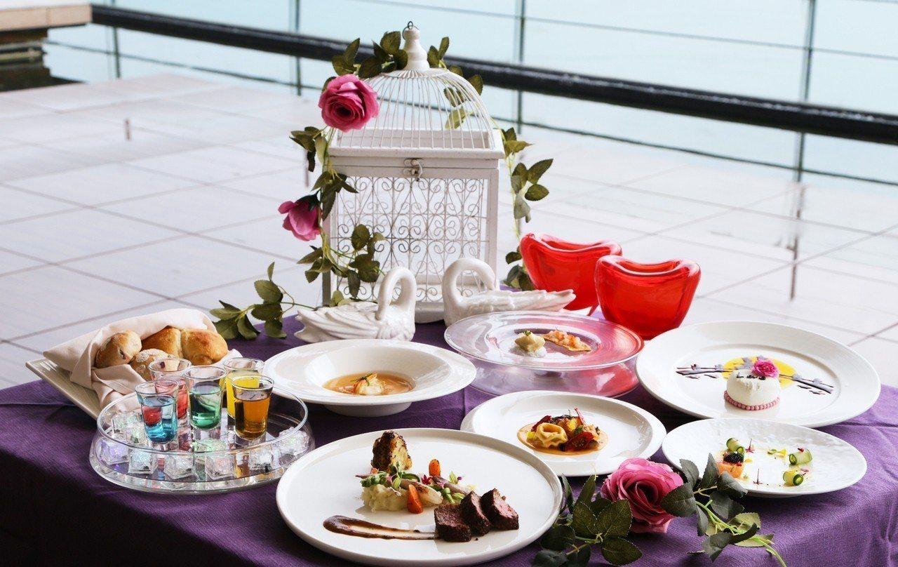 雲品溫泉酒店推出七夕螢光情人夢套餐。圖/雲品溫泉酒店提供