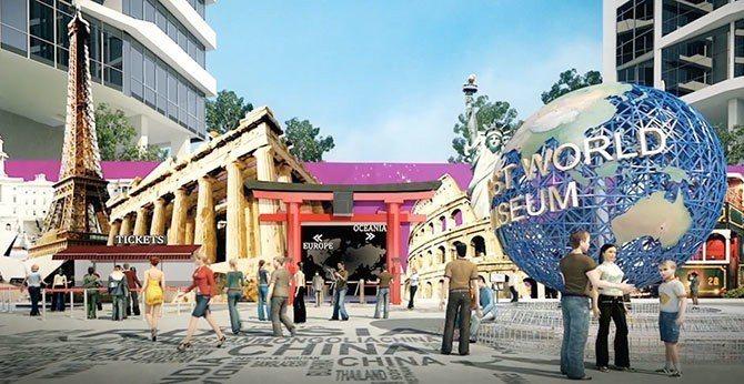 即將開幕的Capital 21世界廣場,將會是新山最大的購物中心。圖/馬來西亞觀...