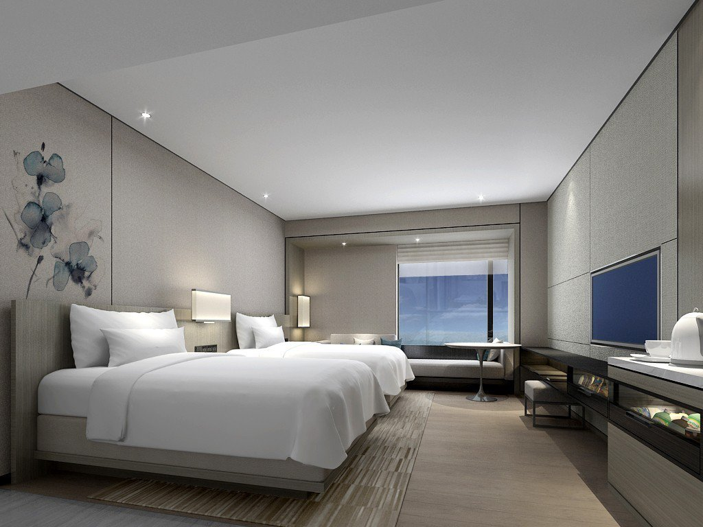 台北(國泰)萬怡酒店房間示意圖。 圖/國泰商旅提供