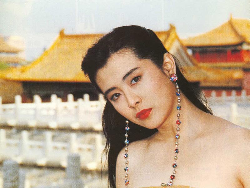 王祖賢為拍廣告,首度到了北京。圖/摘自搜狐