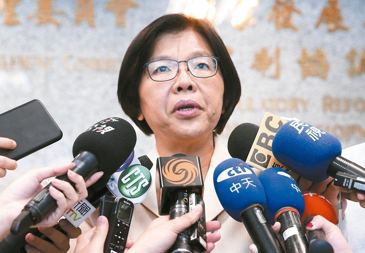 黨產會發言人施錦芳表示,會盡力維持救國團的營運。 記者胡經周/攝影