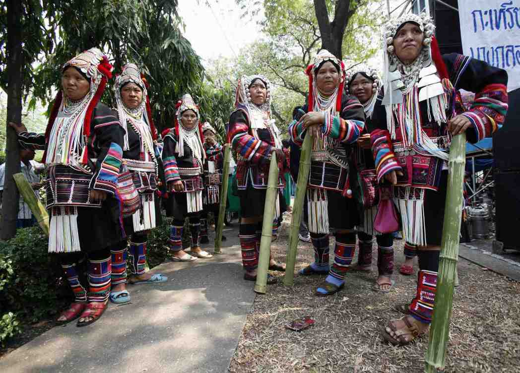 泰國北部的少數族裔阿卡族,該族民眾許多至今仍沒有國籍。(路透)