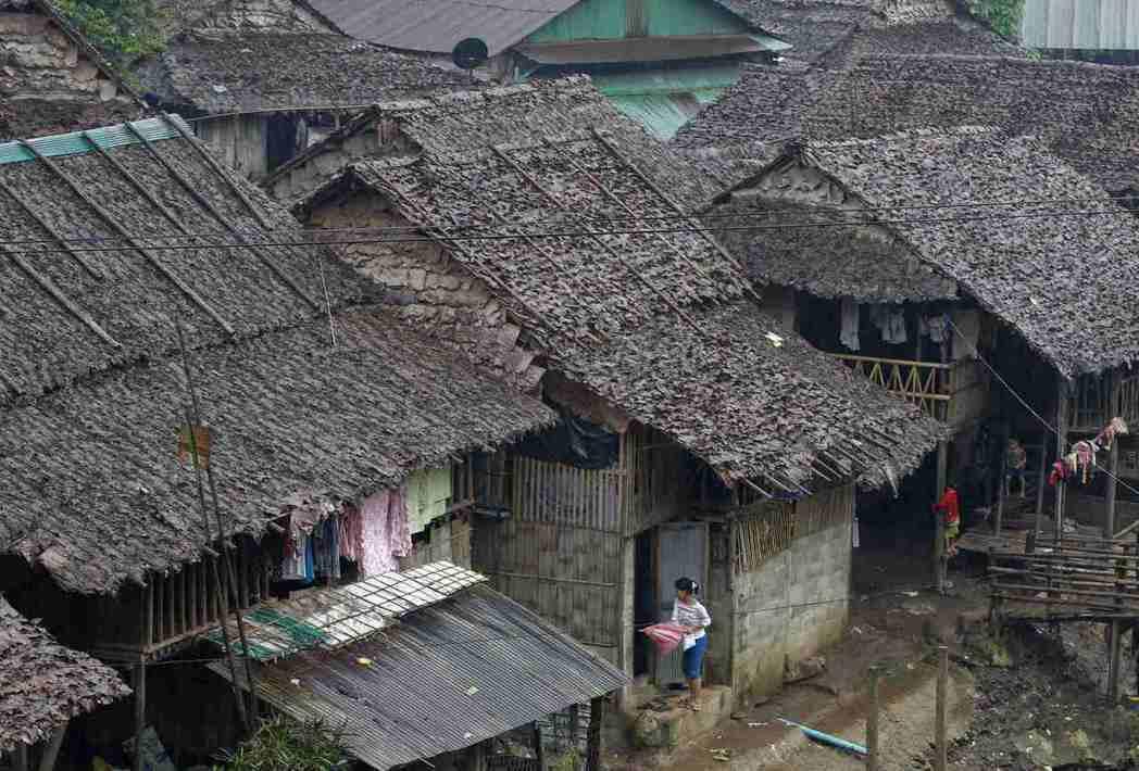 泰國北部的邁拉難民營住了許多來自緬甸的少數族裔難民。(路透)