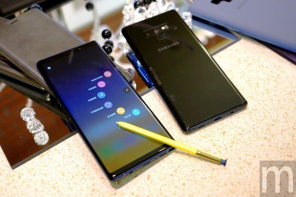 換上新色,同時讓S Pen加入藍牙連接應用功能的Galaxy Note 9