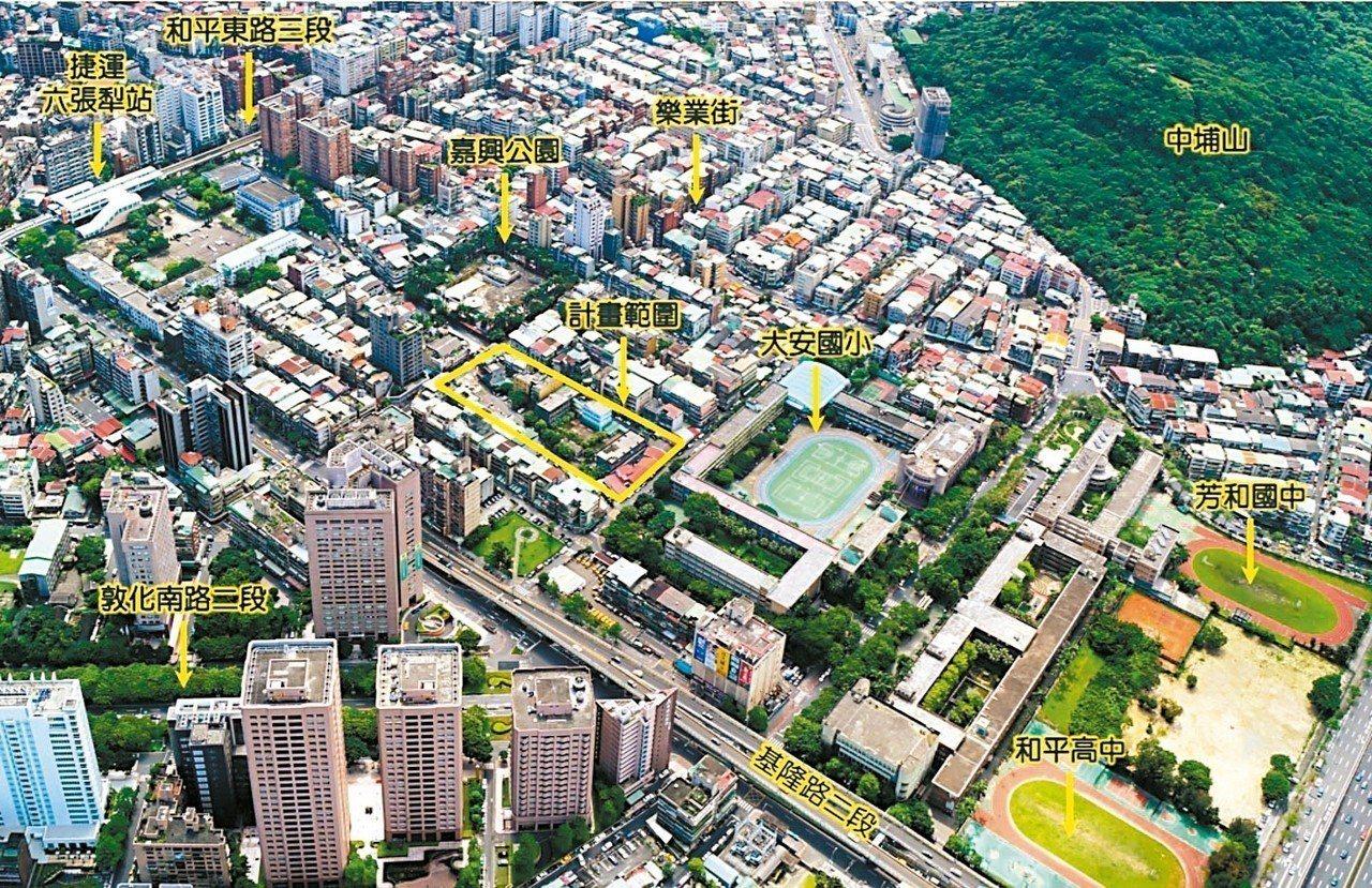 國家住宅及都市更新中心釋出三大招商案,台電嘉興街都更案預計可創造百億產值,成為公...