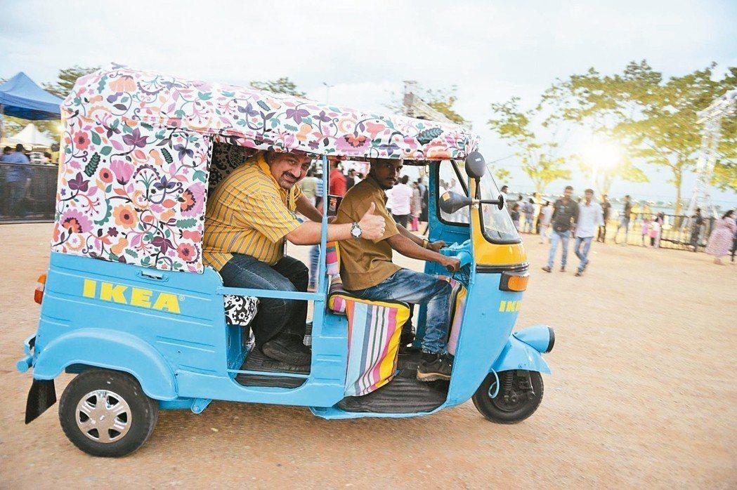 IKEA正式搶進印度市場。 法新社