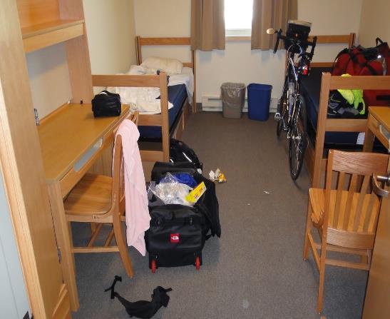 全美最差宿舍,瑞德大學居首。記者謝哲澍/攝影