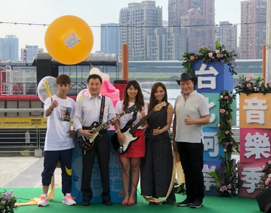 2018台北河岸音樂季即將在下周五(17日)至19日,一連三天在大稻埕碼頭登場。...