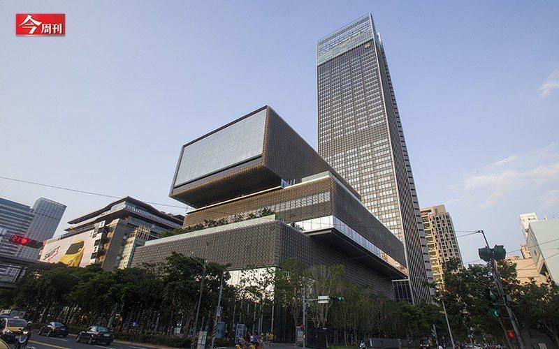 位於台北市信義區的頂級辦公大樓「南山廣場」。 今週刊編輯團隊