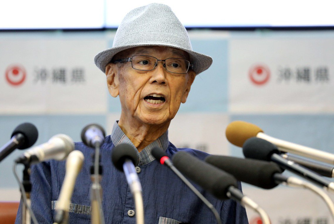 長年為沖繩自主奮鬥的沖繩縣知事翁長雄志,因胰臟癌緊急住院後,於8日傍晚在浦添綜合...