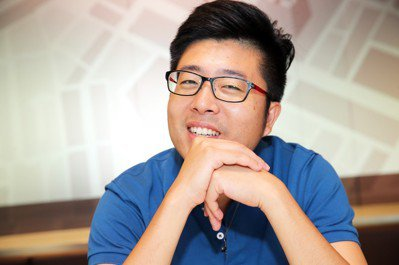 鮮乳坊團隊共同創辦人龔建嘉。 記者徐兆玄/攝影
