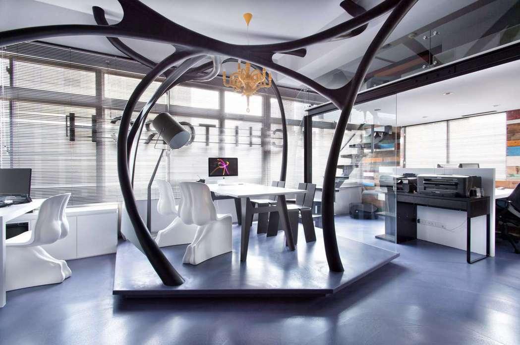 奇拓設計金獎作品《腦力激盪》打破對辦公室刻板印象。 業者/提供