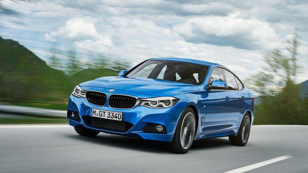 BMW 3-Series GT(F34)。 摘自BMW