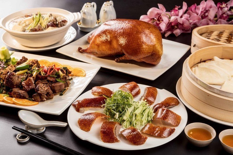 福容大飯店今年首次推出一鴨三吃餐券,千元有找。 業者/提供